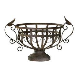 Cyan Design - Iron Fruit Basket - Iron fruit basket - aged rust