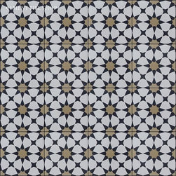 Moroccan Collection - Agadir Black Pattern from Cement Tile Shop