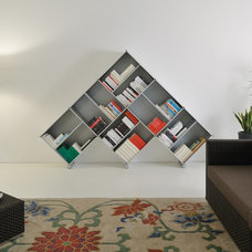 Modern Bookcases by Fitting Piarotto Mobilie
