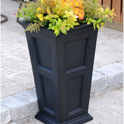 Fairfield Tall Patio Planter - Add a touch of charm to your outdoor patio or porch with the Fairfield Tall Patio Planter. Also great near walkways and driveways.