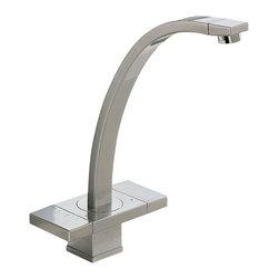 Brizo - Brizo 62972LF-SS Loki Two Handle Bar/Prep Faucet - Series:   LokiNo of Handles:  Two Handle BladeArea:   H 5.32 x  L 21.65 x  W 7.28Other Attributes: NoneSub-Function: Bar/PrepModel No.  62972LF-SS