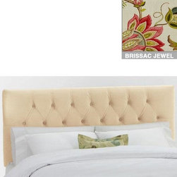 Home Decorators Collection - Custom Kensington Upholstered Headboard - With deep tufting that adds to the appearance of plush comfort, and a simple rectangular design that will blend with any style of bedroom furniture, our Kensington Upholstered Headboard will be a welcome addition to your home. With such a wide range of top-quality fabric options, you are sure to find one that you'll love for years to come. Includes hardware to attach to most standard bed frames. Assembled to order in the USA and delivered in 4-6 weeks. Spot clean only.