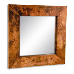 Mathews & Company - Small Square Copper Mirror - Our overview of the new Small Square Copper Mirror is on its way but you can still purchase this wonderful piece for your living quarters today. If you have questions about the product just drop a line or send us an email!
