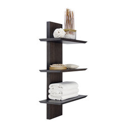 WETSTYLE - M Collection Towel Holder 32'' - M Collection Towel Holder available in 32'' or 60'' height. Offered in several Oak and Walnut finishes.