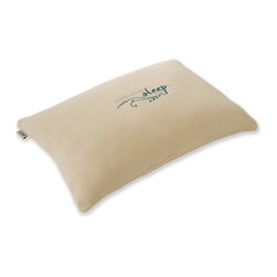 Nature's Sleep - ViTex Traditional Queen Pillow - With a latex-like recovery that uniquely responds to your body's temperature and weight, the ViTex Traditional Queen Pillow naturally reduces stress and pain. This pillow has the benefits of a Visco pillow plus the bouncier feel of a Latex pillow. No need to bunch or re-shape, you are sure to have a great night's sleep on this pillow. Features: -Cream Velour covering.-Designed for side and back sleepers.-Exclusive proprietary individually air-molded material for proper support and circulation.-Uniquely supportive and self-adjusting.-Pliable where desired and stable where needed.-Naturally hypo-allergenic, resistant to mildew, bacteria and dust mites.-Designed with two covers for longevity and protection against microbes / dust mites; Inner Cover is hand wrapped in 100% natural cotton and Outer Cover is luxuriously smooth allergen resistant cotton/poly (80/20) velour removable and washable.-Firm comfort level.-Collection: ViTex.-Distressed: No.Dimensions: -6'' H x 30'' W x 20'' D.-Overall Width - Side to Side: 6.-Overall Depth - Front to Back: 20.