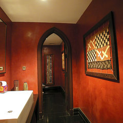 mediterranean powder room utopia projects