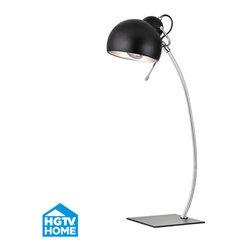 Dimond Lighting - Dimond Lighting HGTV333 Barford 1 Light Arc Table Lamp - Features: