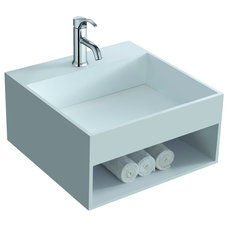 Contemporary Bathroom Sinks by ADM Bathroom Design