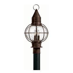 Hinkley Lighting - Hinkley Lighting 2207SZ Cape Cod Medium Outdoor Lantern in Sienna Bronze - Hinkley Lighting 2207SZ Cape Cod Medium Outdoor Lantern in Sienna Bronze