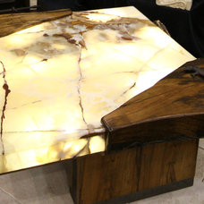 Eclectic Coffee Tables by Architectural Justice