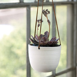 Scribble Hanging Planter - This classic planter is perfect for an empty windowsill in need of some plant life.