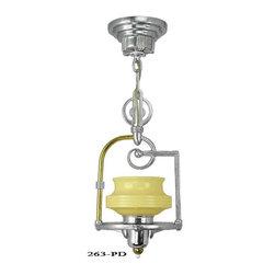Art Deco Hanging Pendant Light - Art Deco Hanging Pendant Light