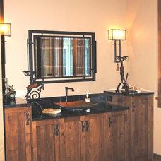 Rustic Bathroom Vanities And Sink Consoles by Scott Reader