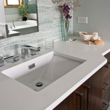 Vanity Tops And Side Splashes by Terrazzo & Marble Supply Co.