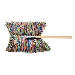 Wool Dry Mop - I have this dust mop, and it's fabulous for all the pet hair that accumulates this time of year.