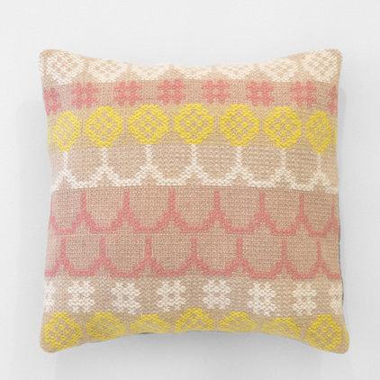 Modern Decorative Pillows by Karen Barbé Textileria