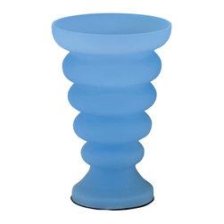 Lite Source - Lite Source LS-3509BLU Rising Tide Table Lamp - Lite Source LS-3509BLU Rising Tide Table Lamp