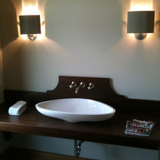 Traditional Bathroom Vanities And Sink Consoles by Bernard Rioux Cabinetmaker Inc.