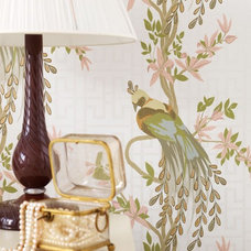 Eclectic Wallpaper by Nina Campbell