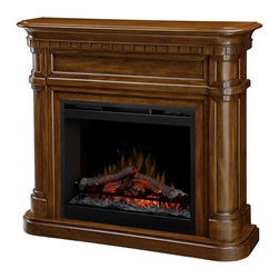 Dimplex - Dimplex Charleston Electric Fireplace Multicolor - DFP26-1336BW - Shop for Fire Places Wood Stoves and Hardware from Hayneedle.com! Complete your living room with this sophisticated Dimplex Charleston Electric Fireplace. This luxurious electric fireplace comes richly detailed with a burnished walnut finish that fits any room. Use this supplemental heater to cut central heating costs and enjoy this safe mess-free fireplace all winter long.About DimplexDimplex North America Limited is the world leader in electric heating offering a wide range of residential commercial and industrial products. The company's commitment to innovation has fostered outstanding product development and design excellence. Recent innovations include the patented electric flame technology - the company made history in the fireplace industry when it developed and produced the first electric fireplace with a truly realistic wood burning flame effect in 1995. The company has since been granted 87 patents covering various areas of electric flame technology and 37 more are pending. Dimplex is a green choice because its products do not produce carbon monoxide or emissions.