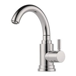 """Brizo - Brizo 61320LF-SS Stainless Steel Euro Euro Bar Faucet Single Handle - Faucet Features:  Works with reverse osmosis systems, filtered water systems or as a cold water tap Cold Water only Single hole installation Air gap included  Faucet Specifications:  Product Weight: 2 lbs. Height: 9.33"""" Faucet Holes: 1 Flow Rate (GPM): 1.5 Spout Height: 6.8"""" Spout Reach: 5"""" Max Deck Thickness: 2.75"""""""