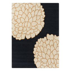 Surya - Hand Tufted Artist Studio Wool Rug ART-224 - 8' x 11' - True to the name, the Artist Studio Collection is an assortment of the best from the leading designers around the world. A palette of deep, rich colors paired with hand tufted details of high/low pile make this collection exceptionally textured and multi-dimensional. All rugs in this collection are hand tufted of 1% New Zealand Wool.