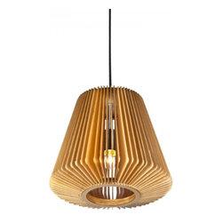 ParrotUncle - Wood Paper Lantern Shade Suspension Lamp - Wood Paper Lantern Shade Suspension Lamp