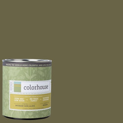 Inspired Semi-Gloss Interior Paint, Glass .06, Quart - Colorhouse paints are zero VOC, low-odor, Green Wise Gold certified and have superior coverage and durability. Our artist-crafted colors are designed to be easy backdrops for living. Colorhouse paints are 100% acrylic with no VOCs (volatile organic compounds), no toxic fumes/HAPs-free, no reproductive toxins, and no chemical solvents.