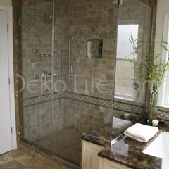 mediterranean bathroom tile by Deko Tile