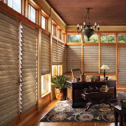 Hunter Douglas - Vignette® Tiered™ Modern Roman Shades with LiteRise®