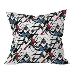 Karen Harris Taliesin Multi Throw Pillow, 18x18x5