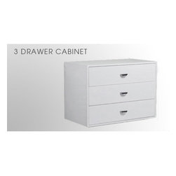 Arrange A Space - Arrange A Space 3 Drawer Cabinet Add-On Unit Multicolor - CU.36.CW - Shop for Closet from Hayneedle.com! About Arrange A Space The Arrange A Space system of closet organization is designed to help you make your closet well yours. With a simple product design that can be installed without calling in a professional and a wide array of options and layouts it's easy and inexpensive to create the closet of your dreams. Built using steel aluminum and industrial-strength pressboard in clean classic finishes these components are ready to fit into your closet and last a lifetime. Happy organizing!