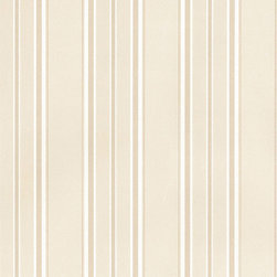 Tan and White Stripe - MD29468 - Collection:Silk Impressions