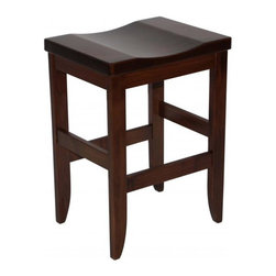 Michael Anthony Furniture - Handcrafted Amish Mission Barstool - Handcrafted Amish Mission Barstool is made from solid North American brown maple hard wood. This product crafted by Amish wood craftsman of the finest wood and finish.