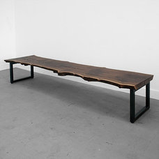 contemporary benches by Uhuru Design