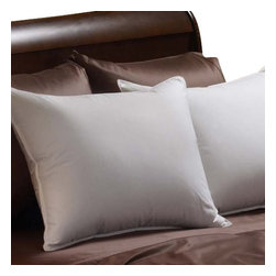 "Pacific Coast Feather Company - Pacific Coast Down Chamber Pillow - Pacific Coast Down Chamber Pillow The softness and ""giveability"" of down, enhanced for firmer support. A patented inner sleeve concentrates down fill through the heart of the pillow to provide extra firmness."