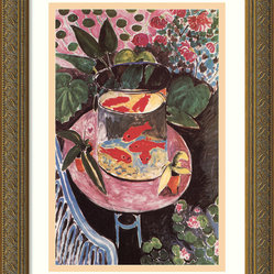 Goldfish, 1911 Framed Print by Henri Matisse