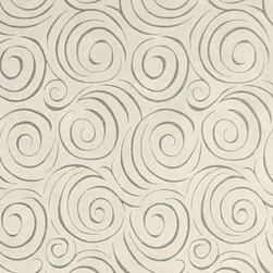 Off White Abstract Swirl Microfiber Upholstery Fabric By The Yard - P0923 is great for all indoor upholstery applications including: automotive, residential, commercial and hospitality. Microfiber fabrics are inherently stain resistant, durable and machine washable. In addition, all of our microfiber fabrics are made in America.