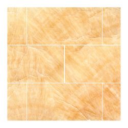 Stone & Co - Honey Onyx 3 X 6 Polished Premium Brick / Subway Tile - Finish: Polished