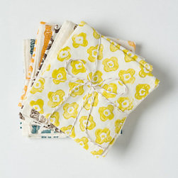 Bundled Saffron Napkin Set - A good bundle of cloth napkins or tea towels really elevates your daily cup of tea or coffee. And they add a little color and warmth to your life, don't you think?
