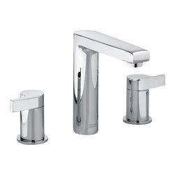 American Standard - Studio Widespread Bathroom Faucet in Polished Chrome - American Standard 2590.801.002 Studio Widespread Bathroom Faucet in Polished Chrome.