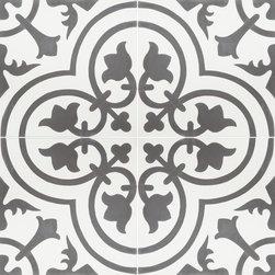 Granada cement Tile - Cluny 888C Design - Photograph by: Meghan Beierle / Tile by Granada Tile