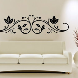 StickONmania - Plant Design #40 Sticker - A cool vinyl decal wall art decoration for your home  Decorate your home with original vinyl decals made to order in our shop located in the USA. We only use the best equipment and materials to guarantee the everlasting quality of each vinyl sticker. Our original wall art design stickers are easy to apply on most flat surfaces, including slightly textured walls, windows, mirrors, or any smooth surface. Some wall decals may come in multiple pieces due to the size of the design, different sizes of most of our vinyl stickers are available, please message us for a quote. Interior wall decor stickers come with a MATTE finish that is easier to remove from painted surfaces but Exterior stickers for cars,  bathrooms and refrigerators come with a stickier GLOSSY finish that can also be used for exterior purposes. We DO NOT recommend using glossy finish stickers on walls. All of our Vinyl wall decals are removable but not re-positionable, simply peel and stick, no glue or chemicals needed. Our decals always come with instructions and if you order from Houzz we will always add a small thank you gift.