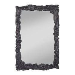 Murray Feiss - Murray Feiss MR1209HGB Hi Gloss Black Mirror - Murray Feiss MR1209HGB Hi Gloss Black Mirror