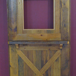 Reclaimed Barnwood Doors - We craft exterior doors and interior doors from various types of wood including antique barn wood.  VIENNA WOODWORKS LLC