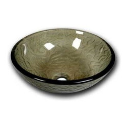 Flotera - Flotera Summer Moss Modern Contemporary Bathroom Home Golden Round Vessel Sink - This mellow moss colored vessel sink is a perfect choice for any modern bathroom. Let the sound of the splashing waters echo through your bathroom while bringing in a touch of nature to your modern bathroom