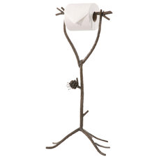 Rustic Toilet Accessories by Littman Bros Lighting