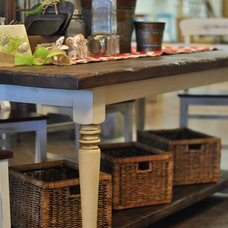 Farmhouse Dining Tables by Saltaire Restoration