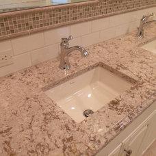 Traditional Bathroom by Long Kitchen & Bath Design Northville