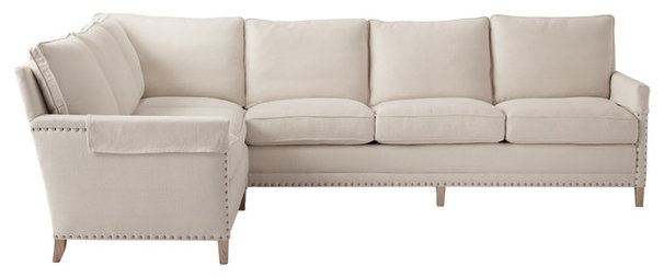 Traditional Sectional Sofas by Serena & Lily